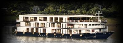 Flusskreuzfahrt in Myanmar