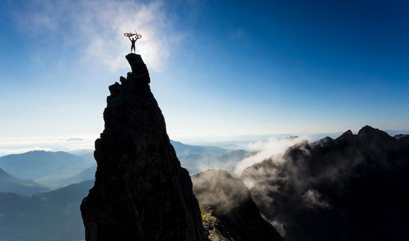 Du meinst, Du kannst mountainbiken?